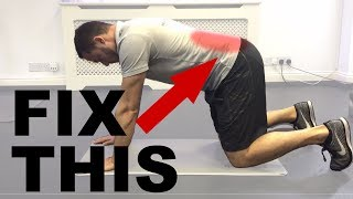 How To Fix Chronic Low Back Pain || Simple Lower Back Stretches