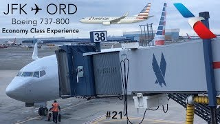 TRIP REPORT | American Airlines | New York to Chicago | Boeing 737-800 | Economy Class Experience