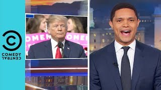 Donald Trump's Back On The Campaign Trail | The Daily Show With Trevor Noah