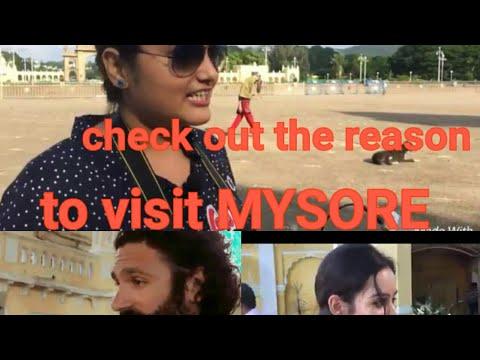 Reason to visit Mysore|Mysuru City of Palaces|Mysore tourist on Mysore|By syed Shariq & Nithya