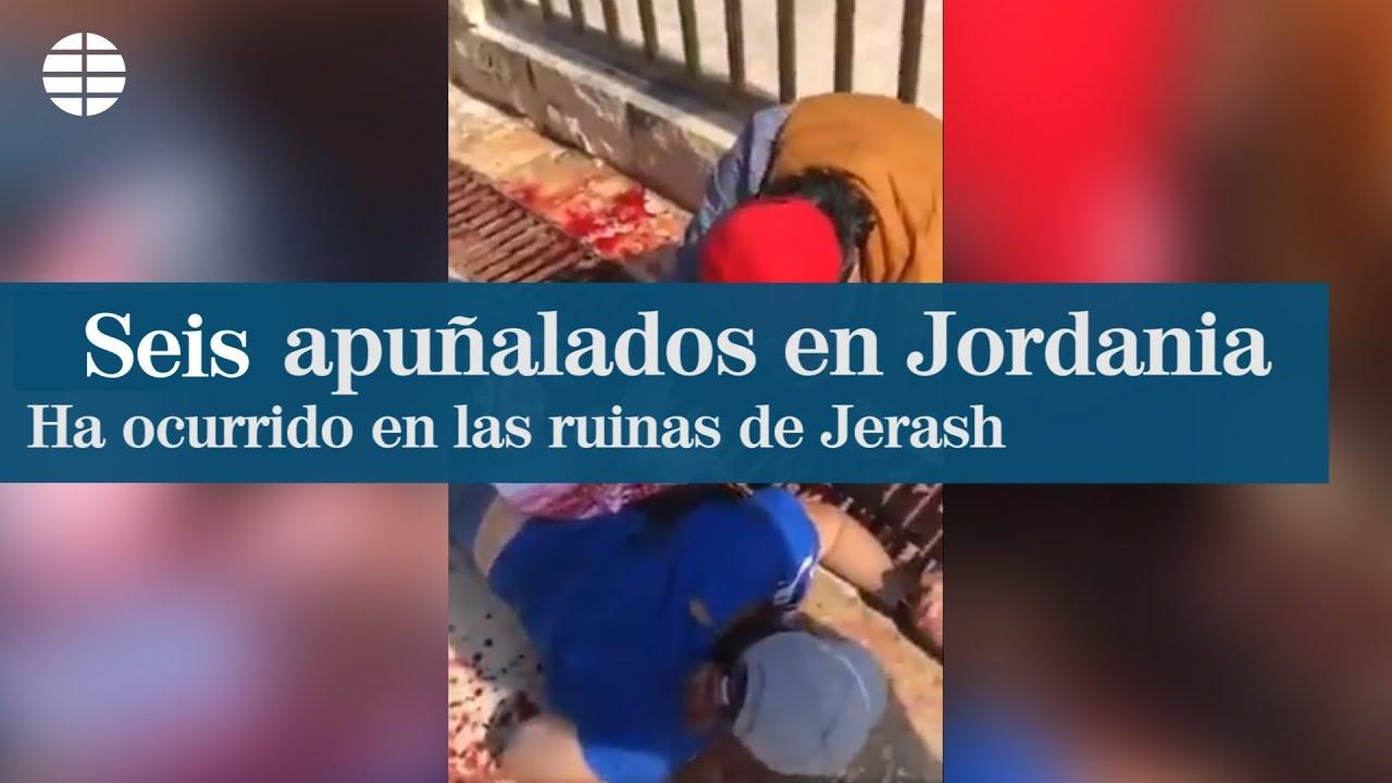 Cuatro turistas y cuatro jordanos, apuñalados en las ruinas de Jerash