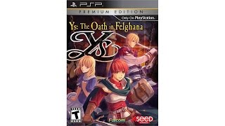 Ys: The Oath in Felghana Review for the PlayStation Portable