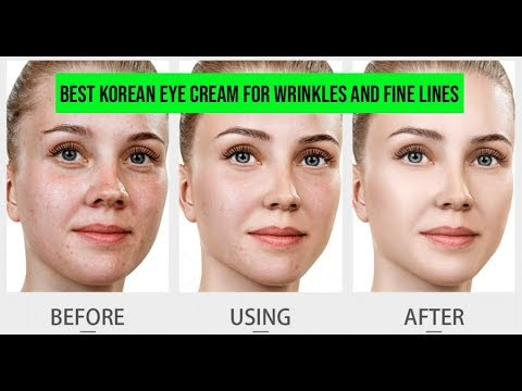 Best Korean Eye Cream For Wrinkles Best Korean Eye Cream For