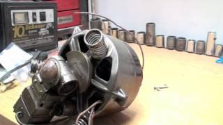 How this goofy refrigeration compressor runs