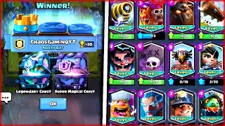 HOW TO GET FREE LEGENDARY CARDS IN CLASH ROYALE! SECRET METHOD FOR UNLOCKING LEGENDARIES!