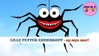 Lille Petter edderkopp - og mye mer! | Barnesanger på norsk