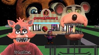 Five Nights at Freddy's at Chuck E Cheese Jayden plays ROBLOX Game FNAF CEC