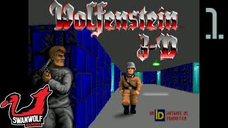 Wolfenstein 3D (No Commentary) | Ep 1: Escape From Wolfenstein (1/2) | Swanwolf Gaming