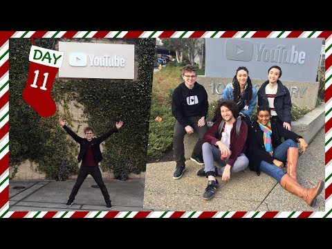 Visiting YouTube's San Bruno HQ // VLOGMAS Day 11