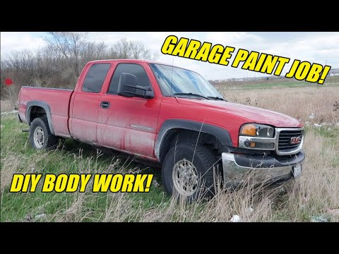 DIY Rust Repair & Body Work! (Rebuilding A GMC Sierra Part 1)