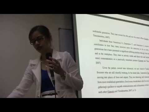 Ethics & inter-generational relationships in Community service  -Margaret Baylon, AUSN Alumni