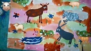 дети рисуют домашних животных