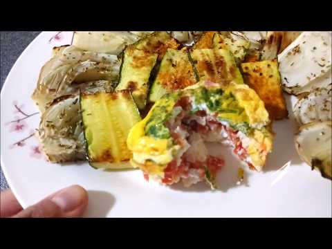 tortino-di-uovo-alle-verdure---ricette-keto---ricette-low-carb