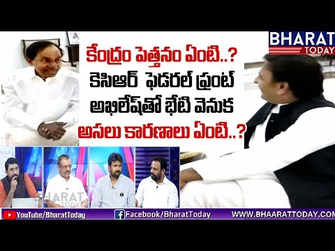 Time TO Ask | Special Discussion On KCR Federal Front | Akhilesh Yadav | Bharat Today