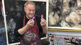 """BobBlast 127 """"Studio Tip - Large Pastel Drawing Set-Up."""""""
