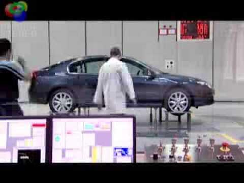 Analisis complejo, tunel de viento (Renault Laguna)
