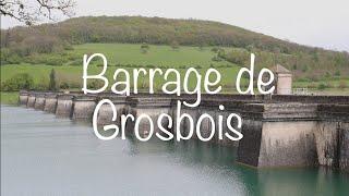 Barrage reservoir Grosbois, Canal de Bourgogne.