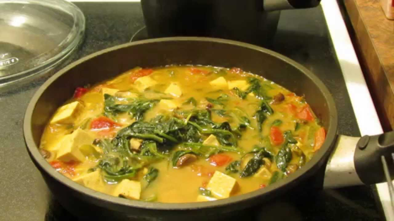 Coconut curry tofu recipe vegan gluten free vegetarian youtube forumfinder Choice Image