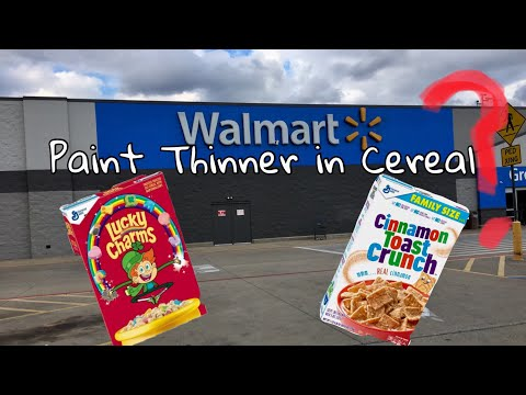 Paint Thinner in Cereal? Trisodium Phosphate