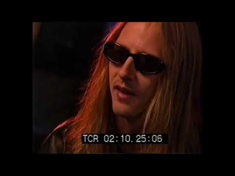 Jerry Cantrell On How He Felt About Layne Staley Playing With Mad Season - 1998 Interview