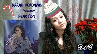 ASAP: Sarah Geronimo (Freedom) Reaction