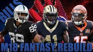 The Best Draft Ever? Fantasy Draft Rebuilding of The Buffalo Bills | Madden 18 Franchise