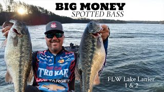Big Money Spotted Bass - Lake Lanier