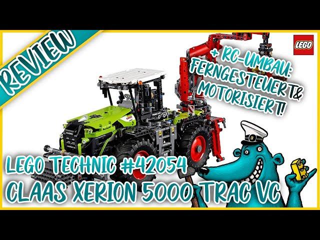 LEGO Technic #42054 Claas Xerion: Dank RC-Umbau der beste Traktor?