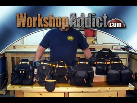 7e0a4ea608 ToughBuilt ClipTech Tool Belt Line Review - YouTube