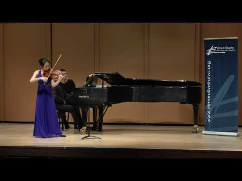 Sirena Huang at The Elmar Oliveira International Violin Competition