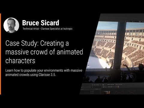 FMX2017: Creating a massive crowd of animated characters
