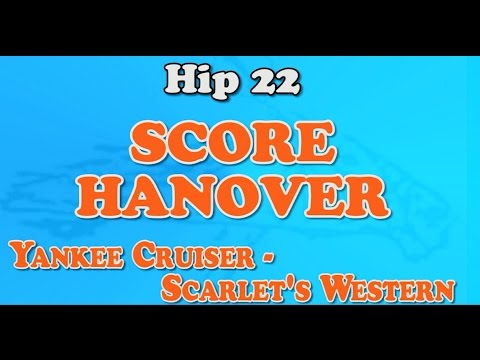 Hip #22 SCORE HANOVER - 2016 Ohio Jug