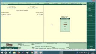 In this video i will teach you how to create tax invoice voucher tally and make entry erp 9, crea...
