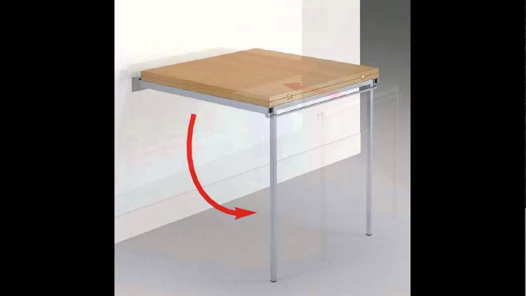 Estructura plegable para mesa h70 aluminio youtube - Herrajes para mesas plegables ...
