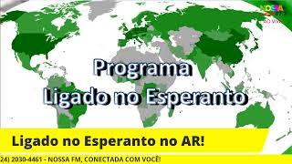 Ligado no Esperanto! 18/07/2021