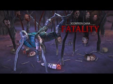 Fatality de escenario Mortal Kombat XL.