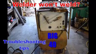 Miller big 40 troubleshooting