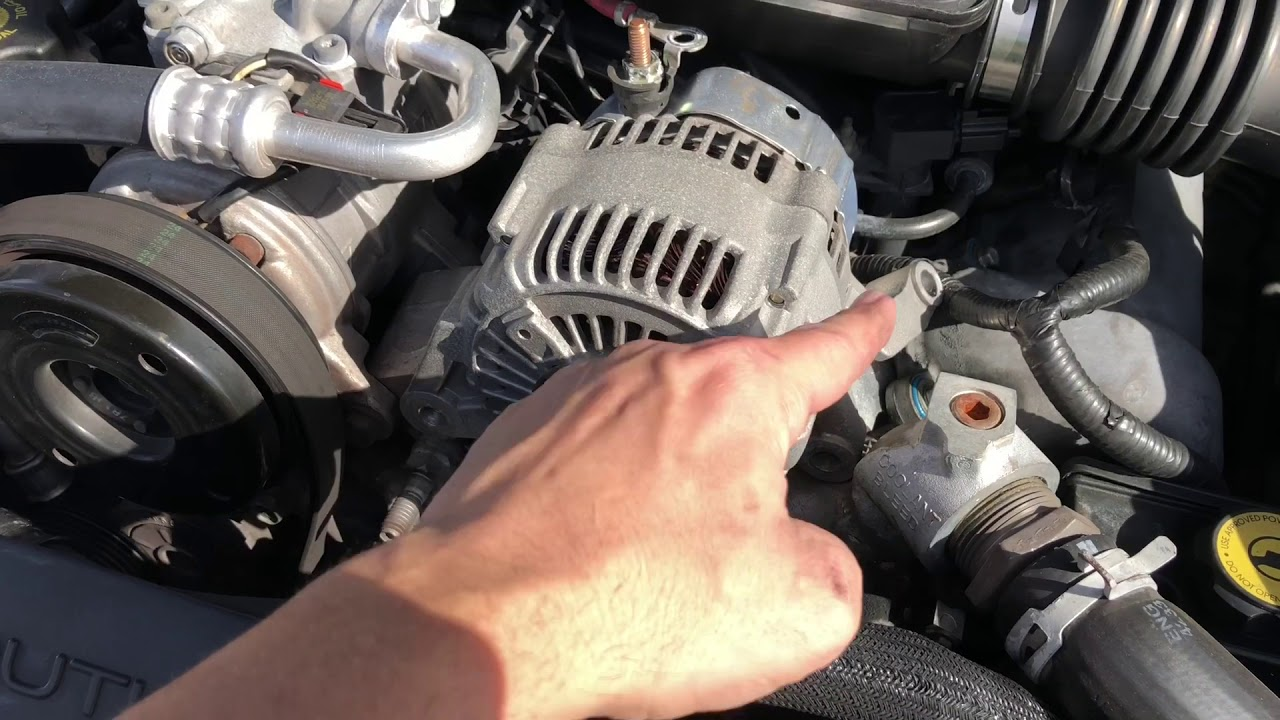 Grand Cherokee Wj Alternator Replacement
