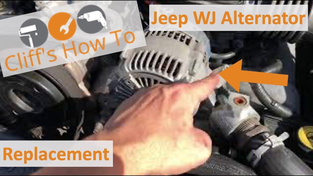 Grand Cherokee Wj Alternator Replacement