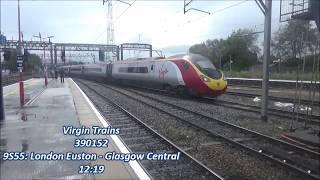 Trains at Crewe - 09/09/2017