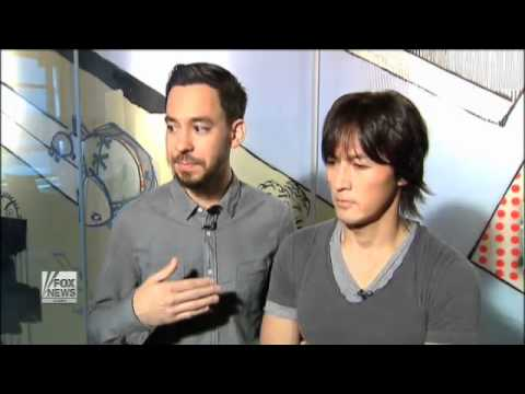 Fox News Interviews Linkin Park's Mike Shinoda and B'z Koshi Inaba