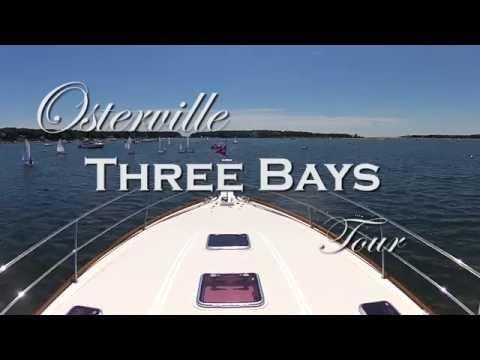Osterville Cape Cod Three Bays Boat Tour