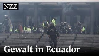 Ecuador: Die Proteste spitzen sich zu