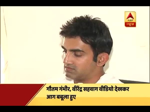 Jan Man: Gautam Gambhir gets angry on Kashmiri younths' misbehaviour with CRPF soldiers