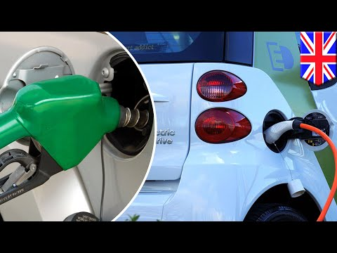 Petrol vs Electric: UK to ban new petrol and diesel cars from 2040 to reduce pollution - TomoNews