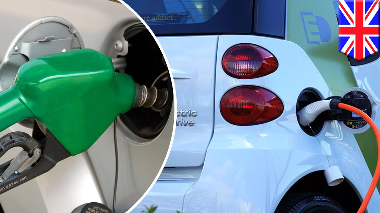 Petrol Vs Electric Uk To Ban New Petrol And Diesel Cars From