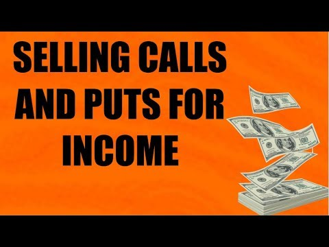 How To Collect Premium On Calls and Puts Options Trading Tutorial