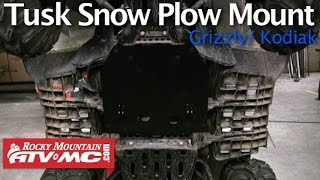 Yamaha Grizzly Tusk SubZero ATV Snow Plow Mount Installation