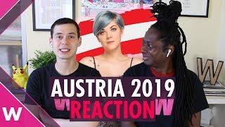 """Austria   Eurovision 2019 REACTION video   PÆNDA """"Limits"""""""