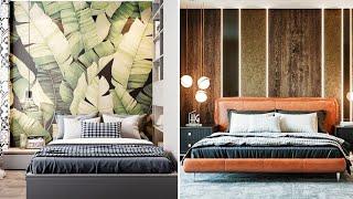 120 Modern Bedroom Wall Decorating Design Ideas - Bedroom Wall Decor Design | Interior Decor Designs